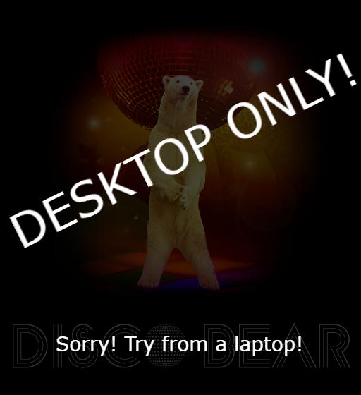 Unity WebGL Player | Disco Bear